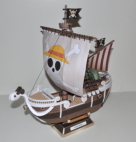 maquette bateau pirate one piece. Black Bedroom Furniture Sets. Home Design Ideas